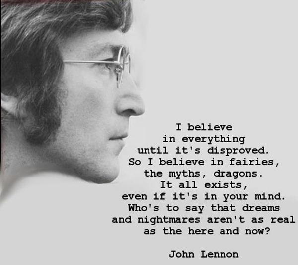 Lennon believes