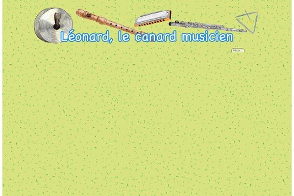 Léonard le canard