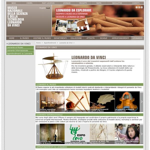 Leonardo da Vinci - museoscienza