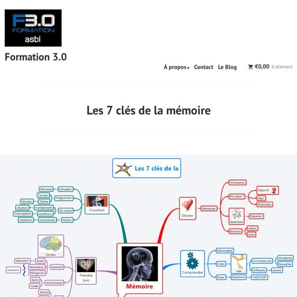 Les 7 clés de la mémoire – Formation 3.0