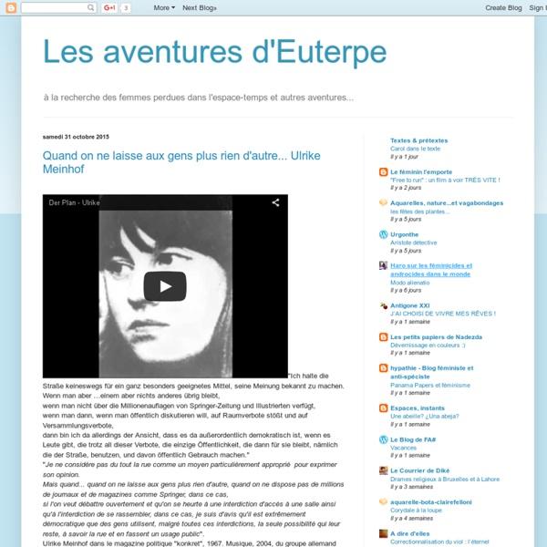 Les aventures d'Euterpe
