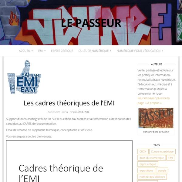 Les cadres théoriques de l'EMI