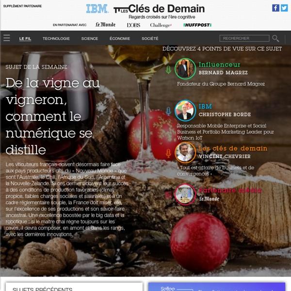 Les clés de demain - Le Monde.fr / IBM