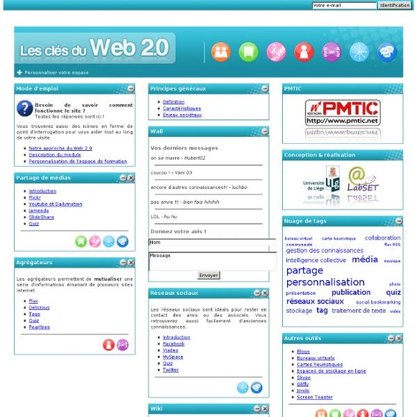 Les clés du web 2.0