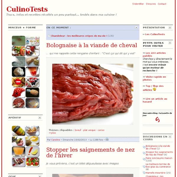 Les CulinoTests
