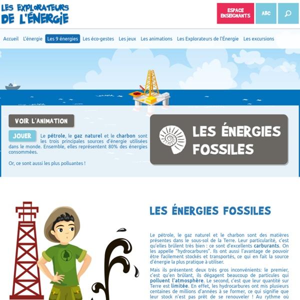 Les énergies fossiles