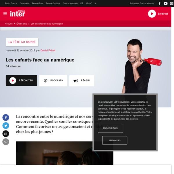 France Inter - Les enfants face au numérique