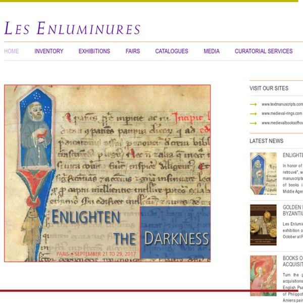 Les Enluminures Art Médiéval