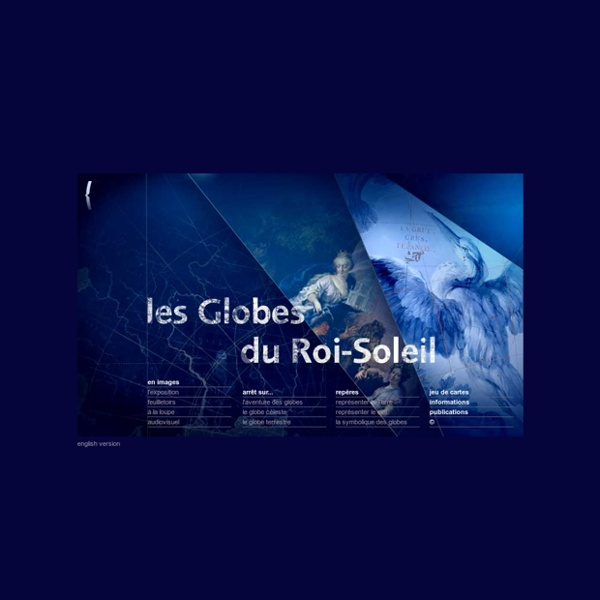 Les Globes du Roi-Soleil