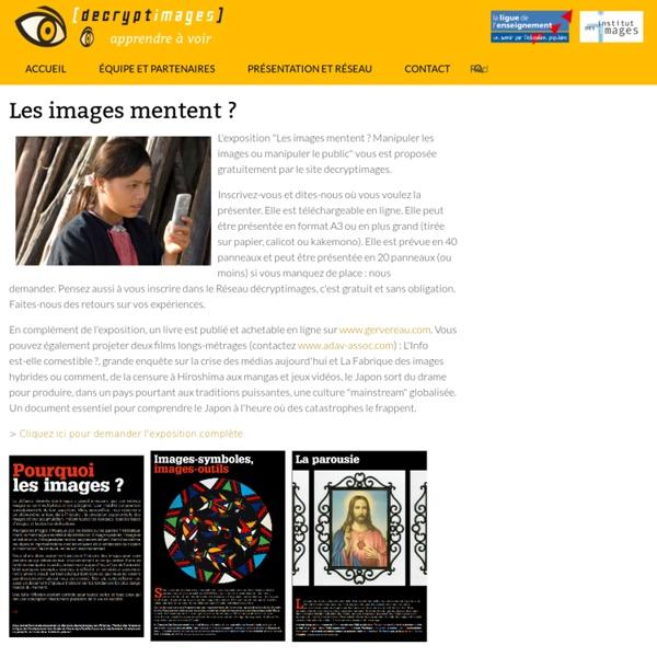 Les images mentent ? (décryptimages)