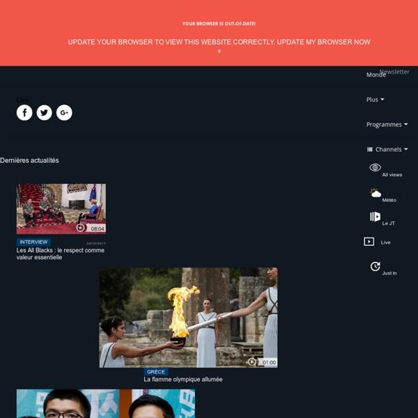 Euronews : les infos internationales en video