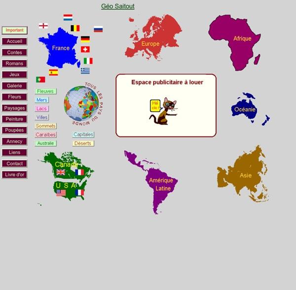 Le jeu des pays du monde