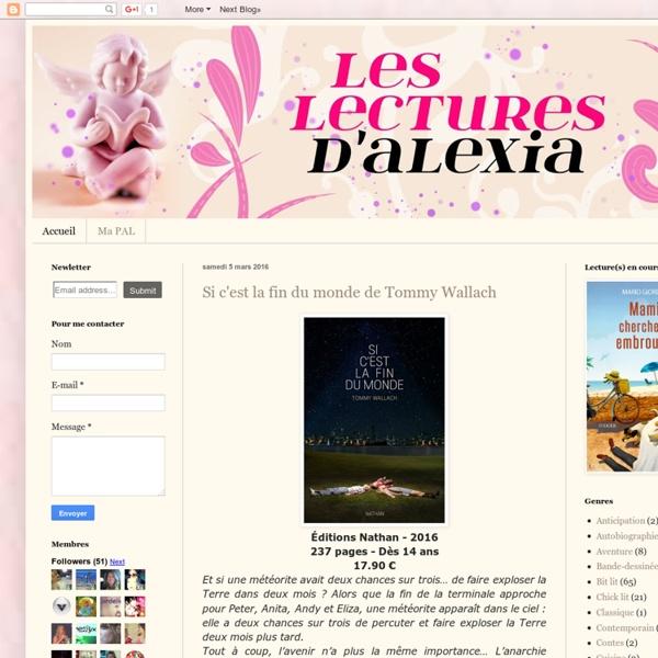 La bibliothèque d'Alexia