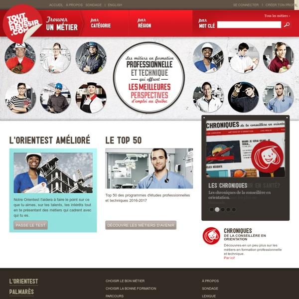 Les métiers d'avenir au Québec