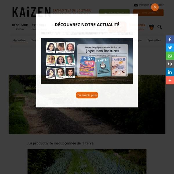 Les miracles de la permaculture