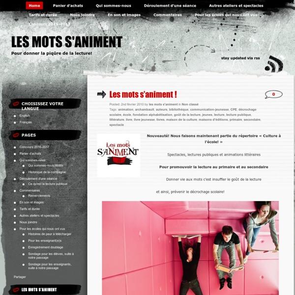 Lesmotssaniment.com
