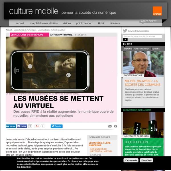 Les musées se mettent au virtuel