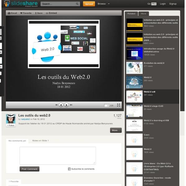 Les outils du web2.0