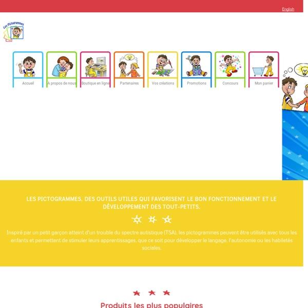 Les Pictogrammes - page d'accueil