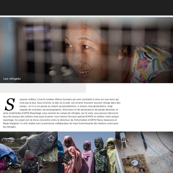 Réfugiés-Arte [ressources] [carte] [vidéo]