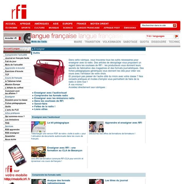 Les sites de la langue française