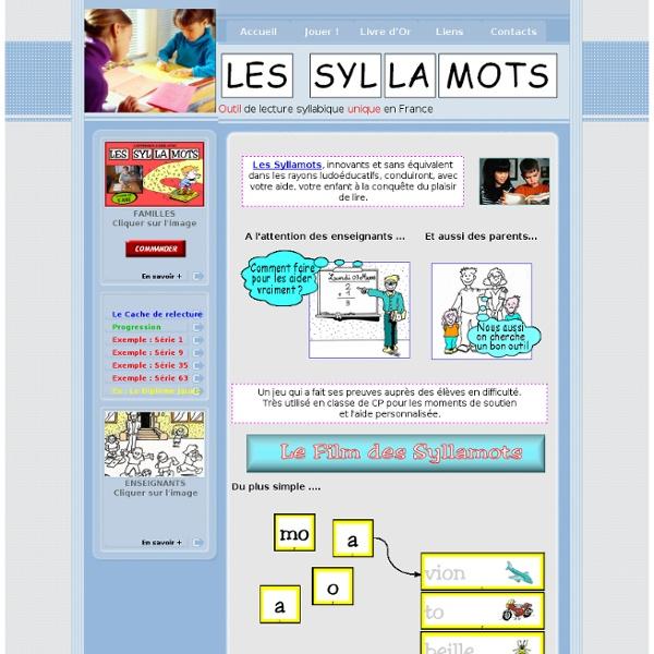 Les SYLLAMOTS