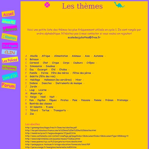 Les themes