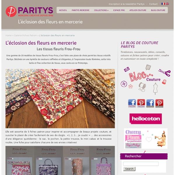 Mercerie Créative - Couture Facile I Paritys