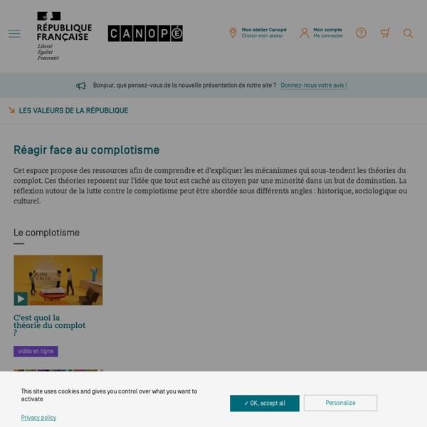 Vidéos pour réagir face au complotisme - Canopé, Jérome Grondeux et Spicee