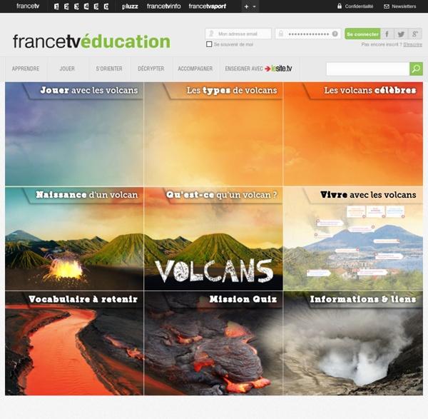 Volcan, éruption volcanique, coulée de lave