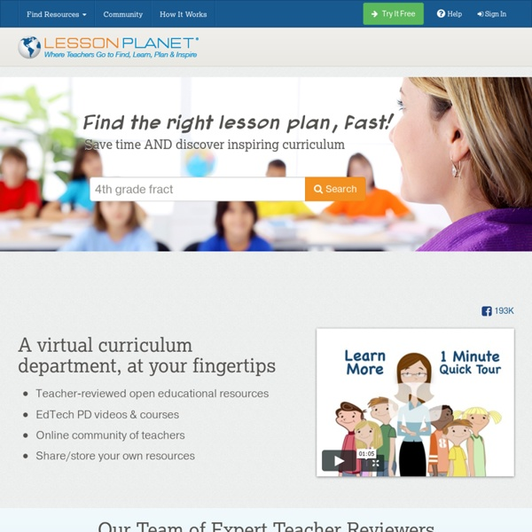 Lesson Plans & Worksheets for School Teachers