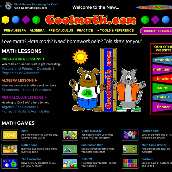 Cool Math Free Online Lessons Games And Apps Fun Picture