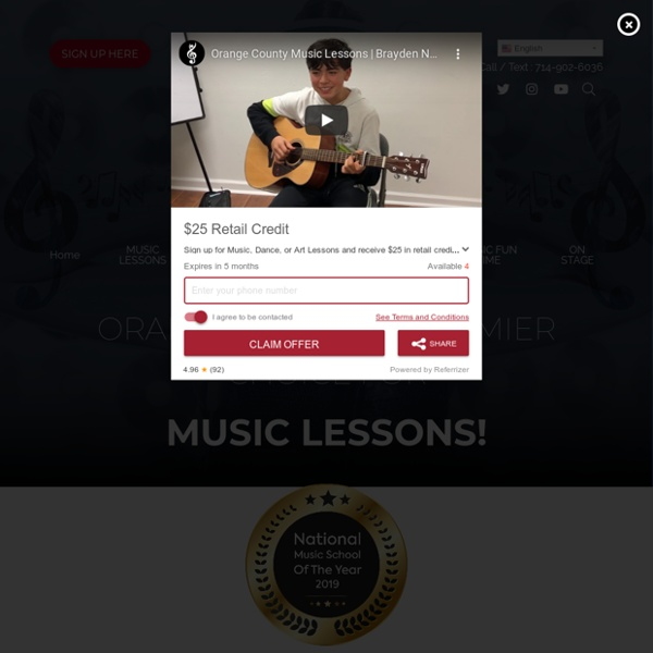 Music Lessons Fountain Valley