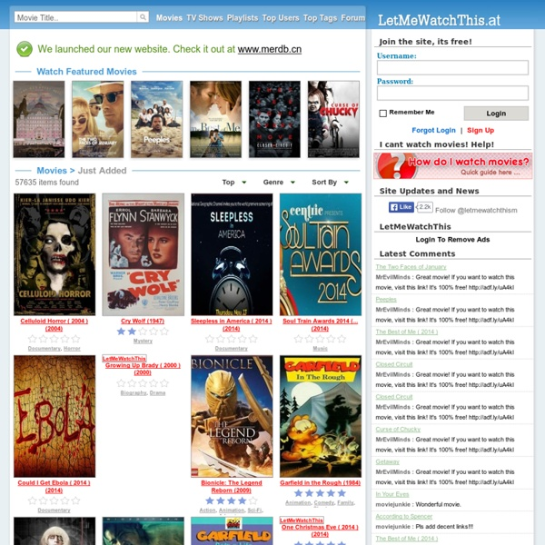 PrimeWire - Watch Movies Online Free | Pearltrees
