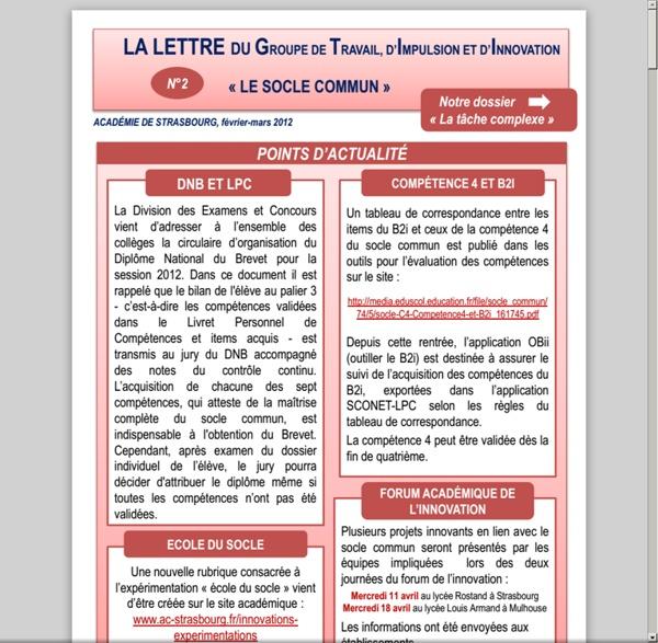 Www.ac-strasbourg.fr/fileadmin/pro/GT2I/Socle/Lettre_GT2I_n__2