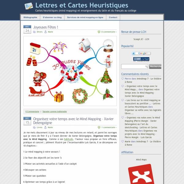 - Lettres et Cartes Heuristiques