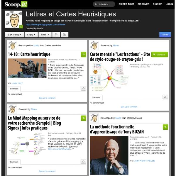 Lettres et Cartes Heuristiques