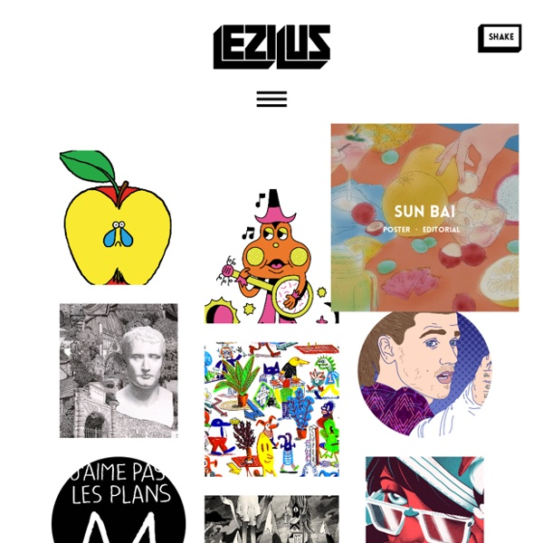 Lezilus, Agence d'illustrateurs et de graphistes internationaux à Paris - Michel Lagarde, Nicolas Pitzalis