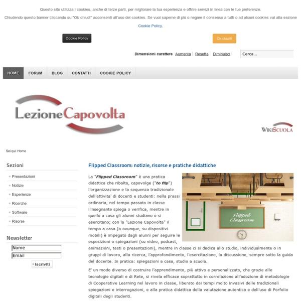 Lezione Capovolta - Home