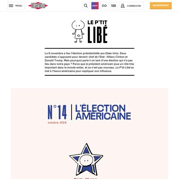 Libération.fr – Le P'tit Libé - L'élection américaine