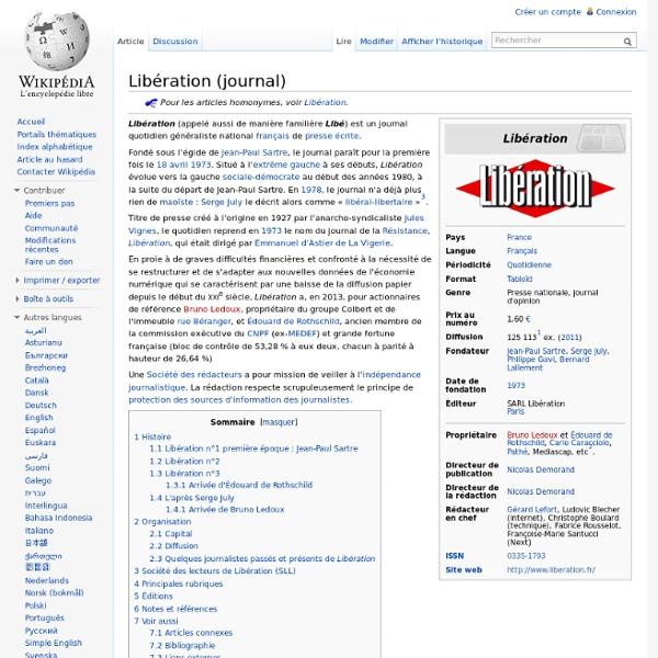 Libération 2005 Édouard de Rothschild