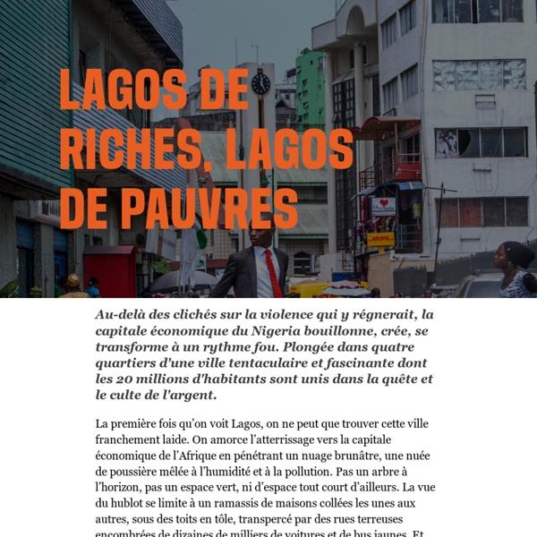 Libération.fr –Lagos de riches, Lagos de pauvres