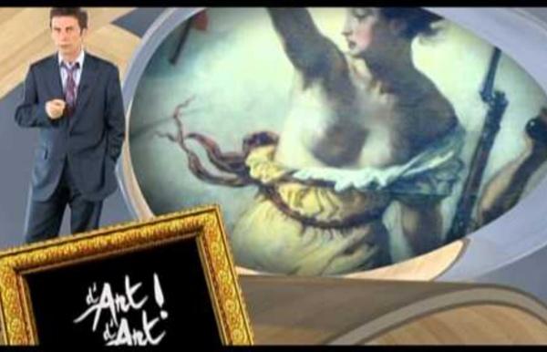 """""""La liberté guidant le peuple"""" Delacroix - d'Art d'Art"""