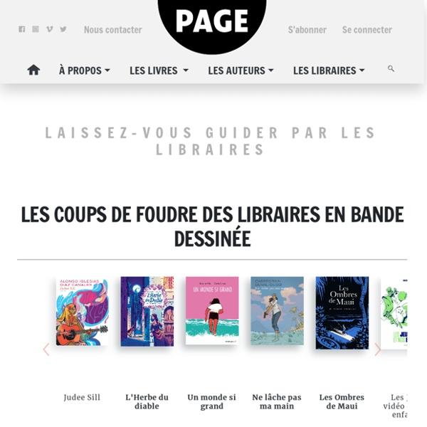 PAGE des libraires, les livres lus et conseillés par les libraires