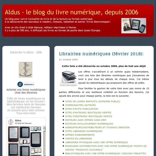 Librairie numérique (décembre 2011):