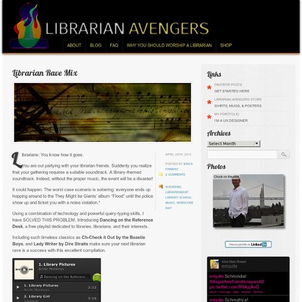 Librarian Avengers