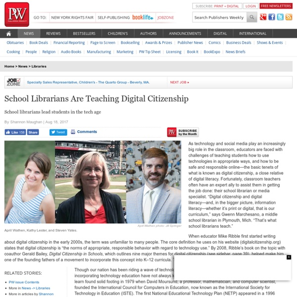 School Librarians Are Teaching Digital Citizenship