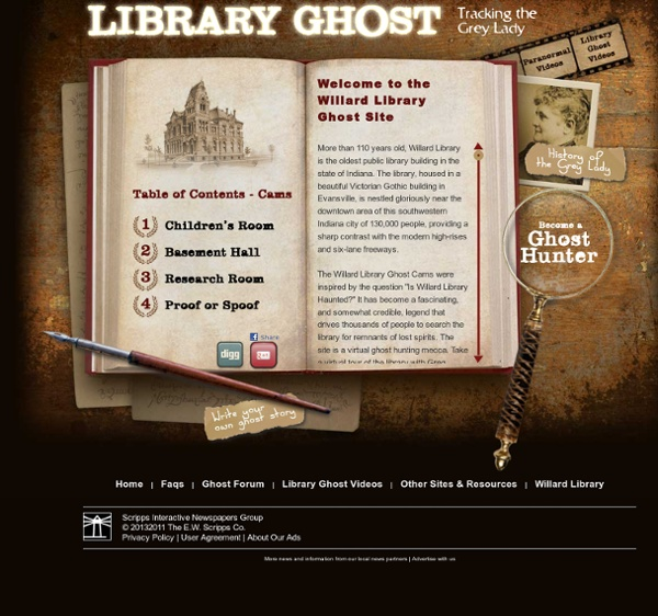 Library Ghost - Tracking the Grey Lady
