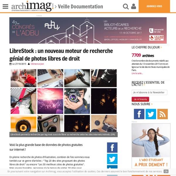 LibreStock : un nouveau moteur de recherche génial de photos libres de droit