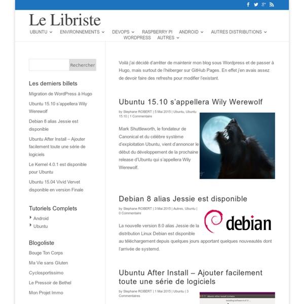 Installation de Gnome 3 sur Ubuntu 11.04 Natty Narwhal
